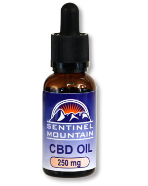 Sentinel Mountain CBD Tincture Oil Drops 250mg